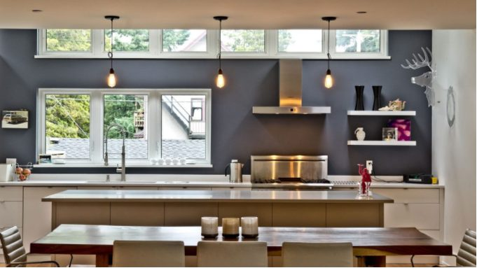 Fantastic kitchen lighting ideas vaulted ceiling #Kitchenlighting #Kitchenideas #Kitchen #Home #House