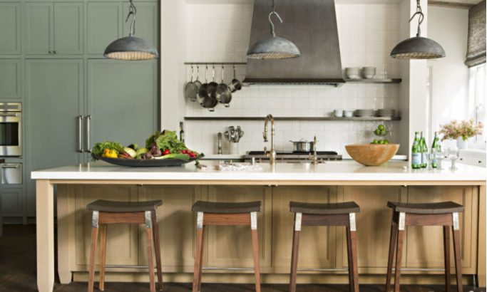 Sensational kitchen lighting high ceiling #Kitchenlighting #Kitchenideas #Kitchen #Home #House