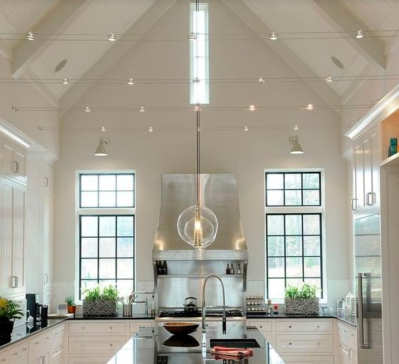Ideas Kitchen Lighting Fixtures With Modern, Simple, And