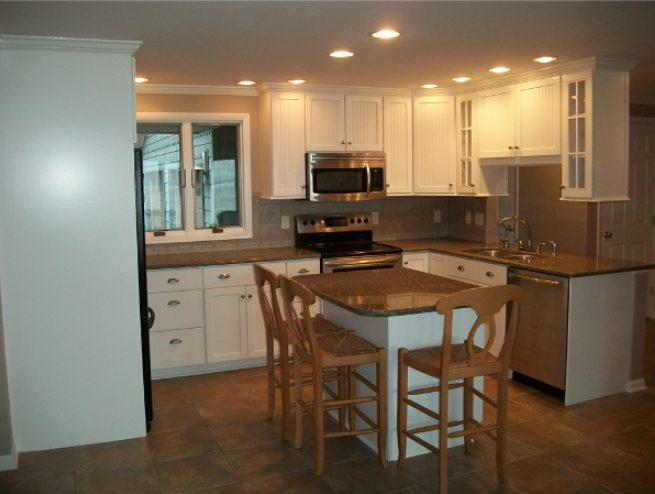 Staggering kitchen lighting farmhouse #Kitchenlighting #Kitchenideas #Kitchen #Home #House