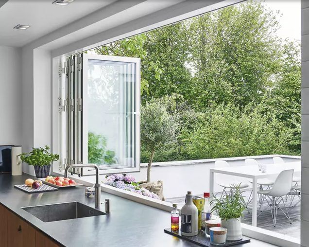 Delight kitchen windows decorating ideas #Kitchen #Kitchenwindows #Homedecor #Kitchendesigns