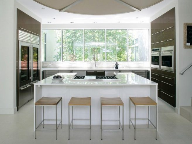 Sensational kitchen windows that stick out #Kitchen #Kitchenwindows #Homedecor #Kitchendesigns