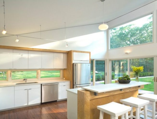 Remarkable kitchen windows next to stove #Kitchen #Kitchenwindows #Homedecor #Kitchendesigns