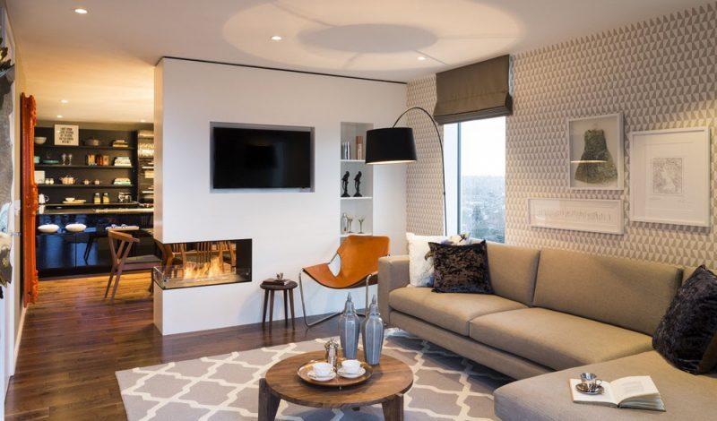Fantastic modern living kitchen ideas #Homedecor #Livingrooms # Rooms # Interiordesigns