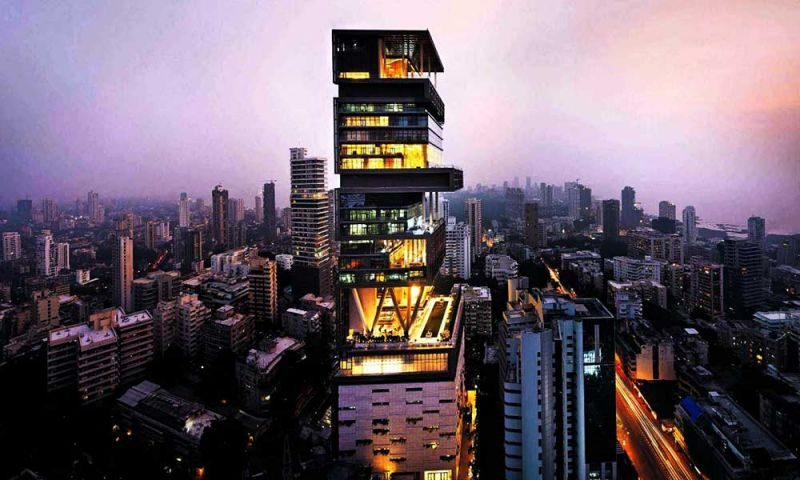 The Biggest House in the World (Antilla, Mumbai)