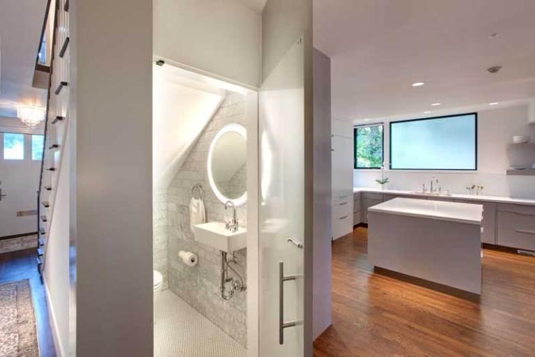 Remarkable bathroom remodel ideas glass block #Homedecor #Bathroomremodel #Homerenovation