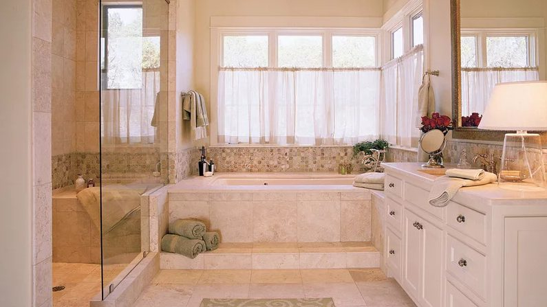 Terrific bathroom remodel ideas tub #Homedecor #Bathroomremodel #Homerenovation