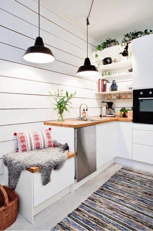 Uplifting kitchen design 50s style #kitchendesign #homedecor #home #kitchen