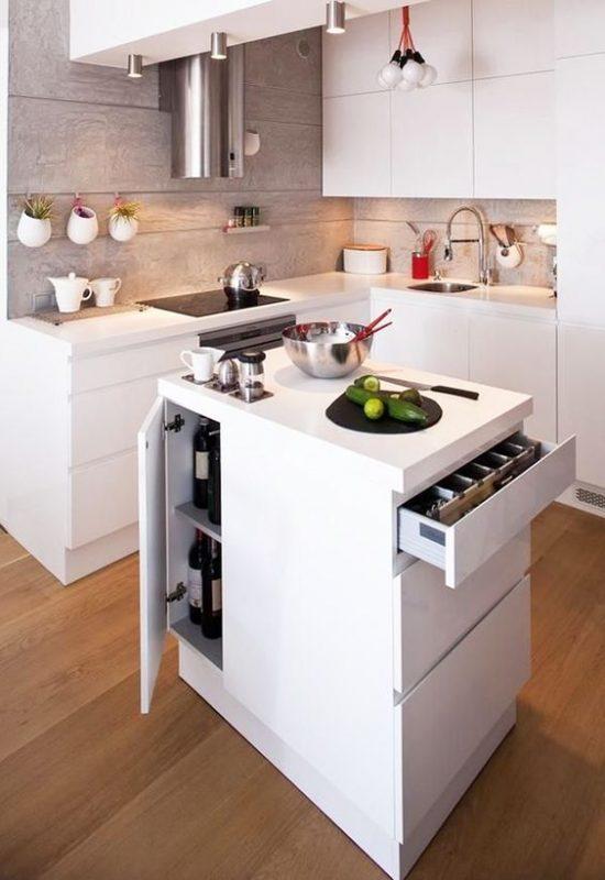 Striking kitchen design open shelves #kitchendesign #homedecor #home #kitchen
