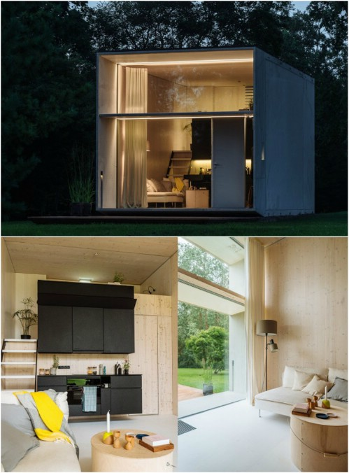 Remarkable minimalist home design inspiration #home #house #modernhomes #smallhomes