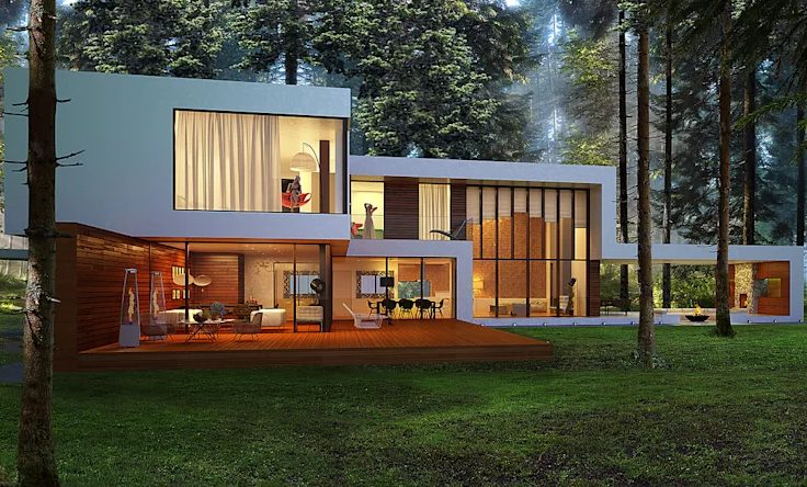 Wonderful minimalist interior design for small houses #home #house #modernhomes #smallhomes