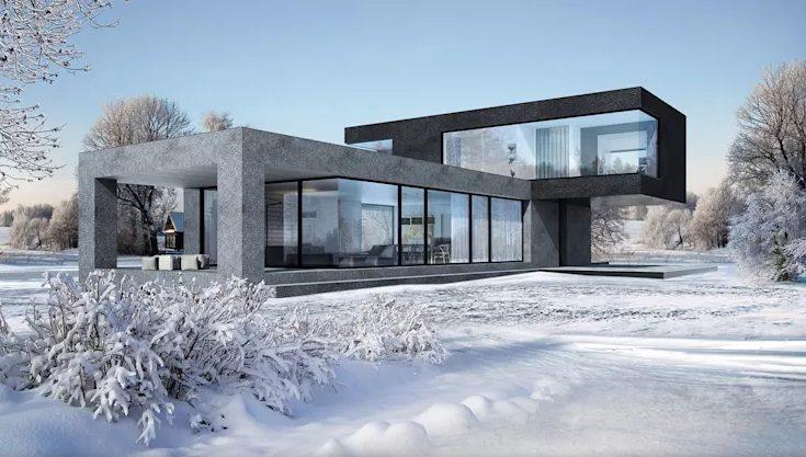 Eye-opening minimalist house designs #home #house #modernhomes #smallhomes