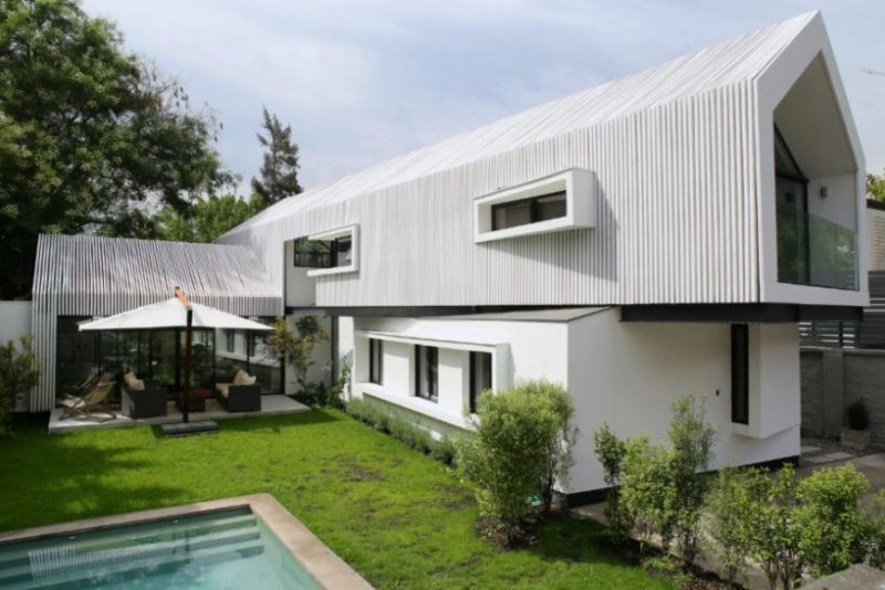 Marvelous modern home design outside #home #UniqueHouse #modernhome #homedesigns