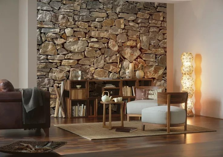 Marvelous wall decor ideas stone #Home #Homedecor #Wallideas #Houseinterior
