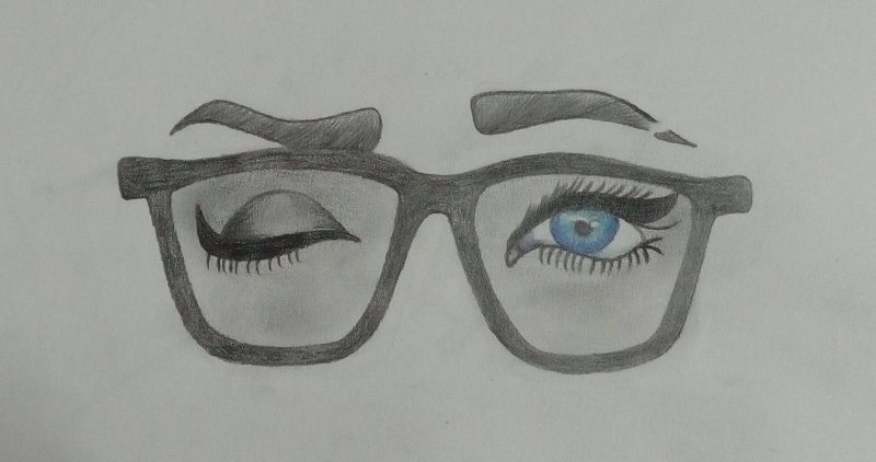 Glasses Drawing