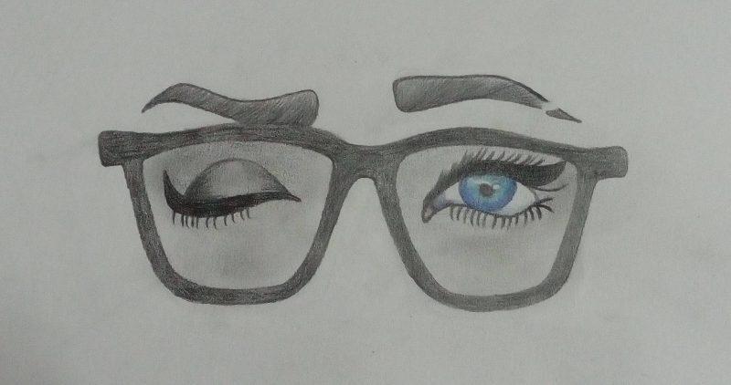 Glasses Drawing