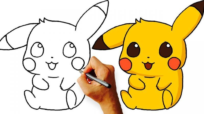 Pikachu Drawing