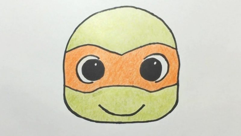 Cute Turtles Drawing
