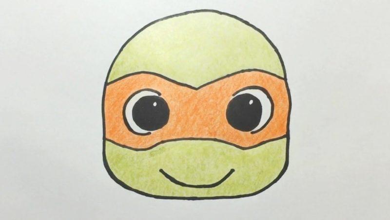 Cute Turtles Drawing