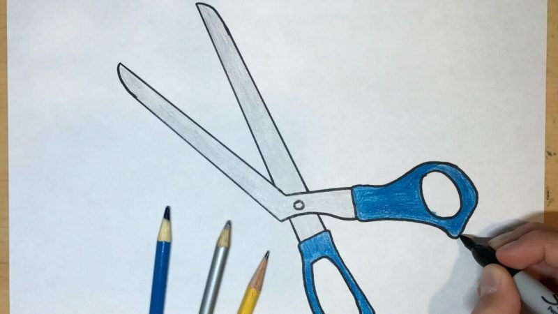 Scissors Drawing