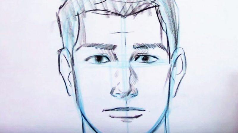 Trace a Human Portrait