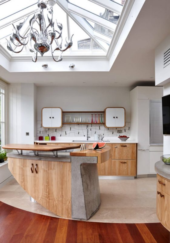 Brilliant kitchen remodel ideas with island #home #homedecor #homedesign #kitchen #Kitchenremodel