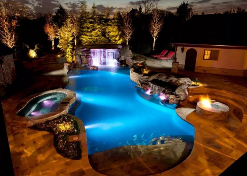 Uplifting bedroom swimming pool design #swimmingpools #homedecor #indoorpool #outdoorpool