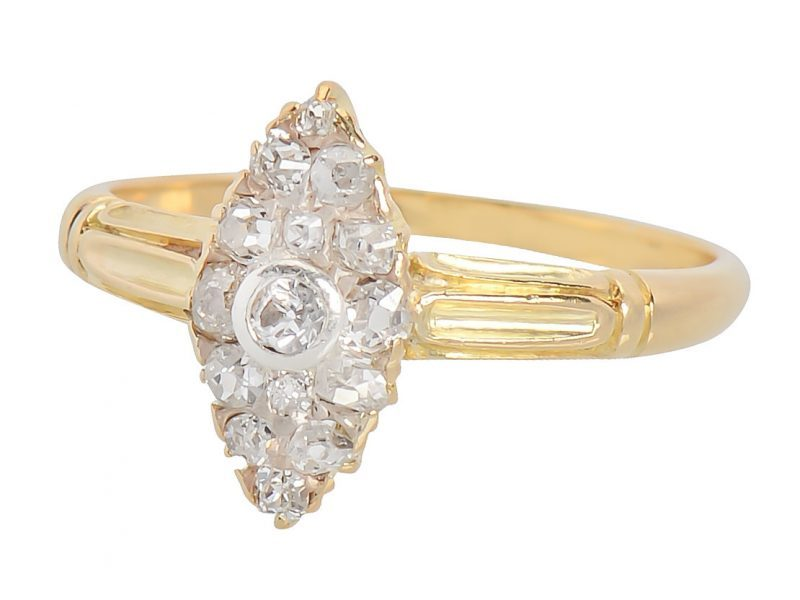 Marquise Shaped Ring