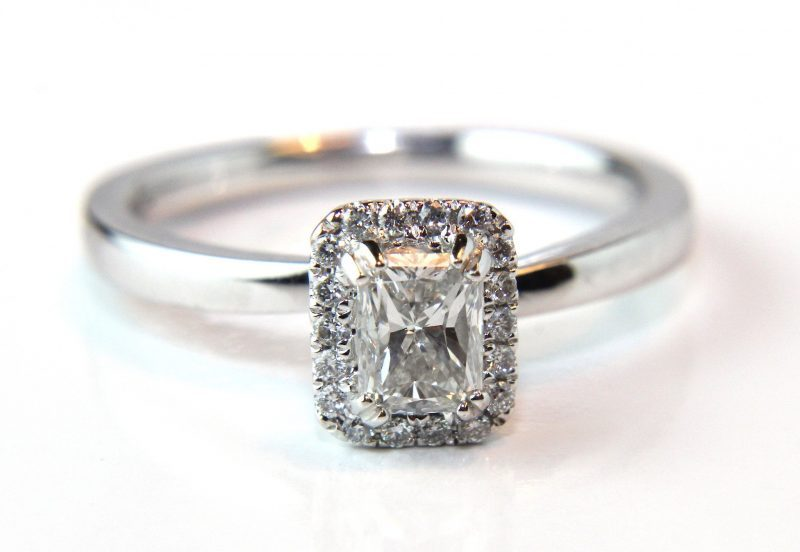 Radiant Cut Ring