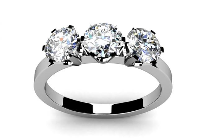 Round Cut Ring