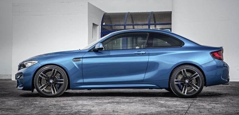 Sports car BMW m2