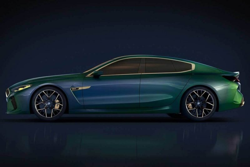 Cool and Luxury car BMW M8