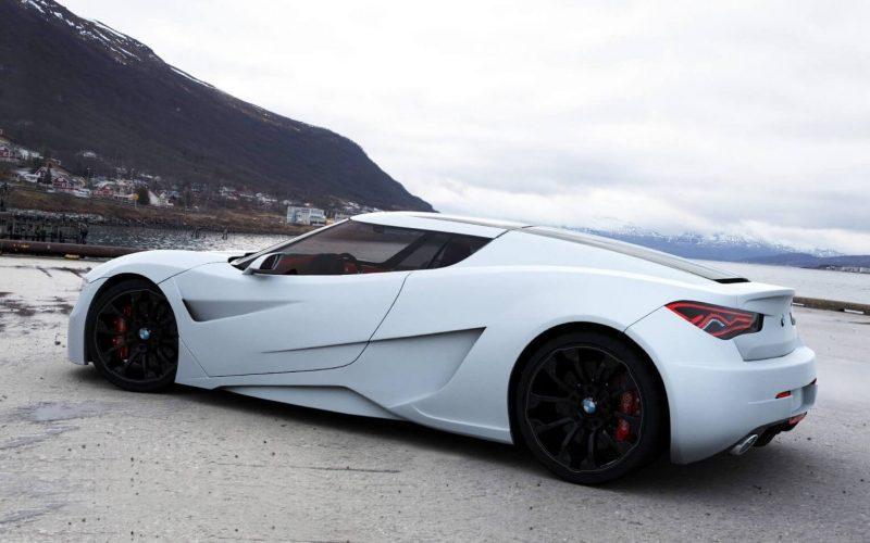 Sports car BMW M9