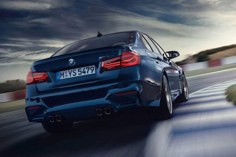 Luxury car BMW M3