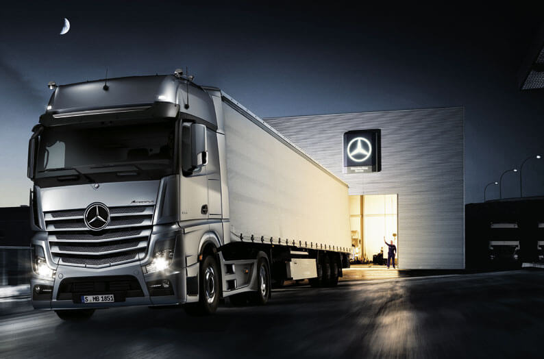 Cool Trucks Pictures The New Actros