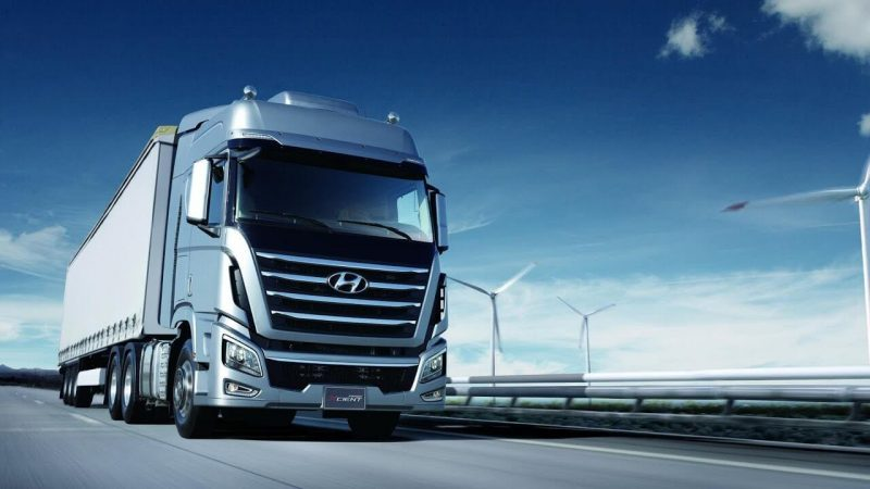 Hyundai Xcient Cool Trucks Pictures