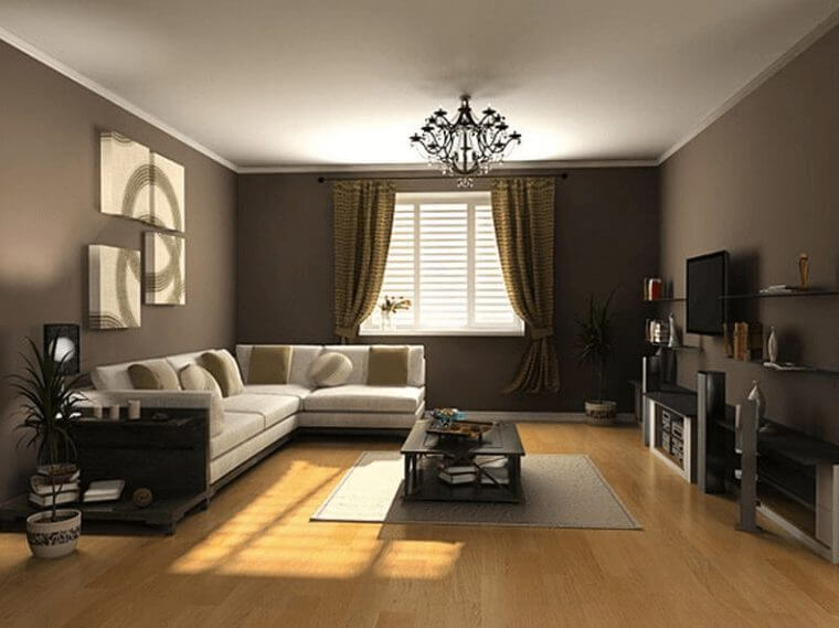 Living Room Color Ideas Brown
