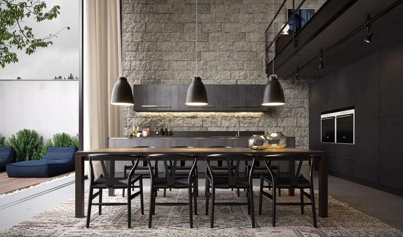 Dark Dinning Room Paint Color Ideas