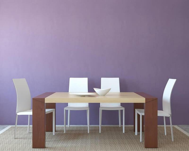 Purple Dinning Room Paint Color Ideas